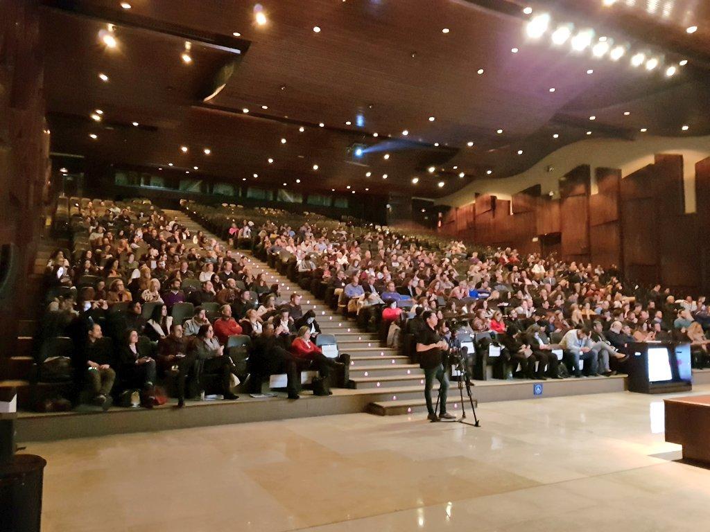 Auditorio Palacio de Ferias y Congresos de Málaga durante Gastromarketing